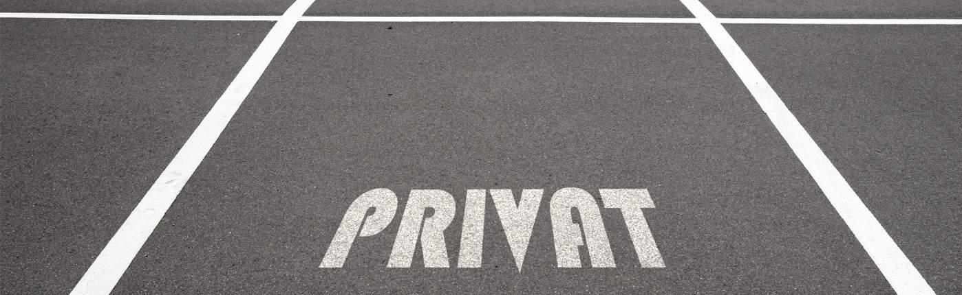 Unbefugtes Parken Auf Privatparkplätzen Parkräume Kg
